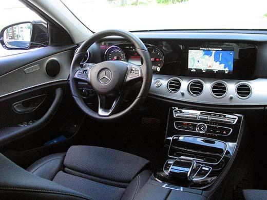 Mercedes benz e 220 d a premium business for Mercedes benz rental pittsburgh