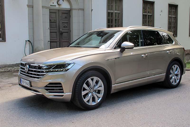 Vw Touareg 2018 >> Volkswagen Touareg Ei Innosta Kotkotuksillaan Taloustaito Fi